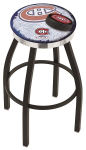 Montreal Bar Stool w/ Canadiens Logo Swivel Seat - L8B2C-D2