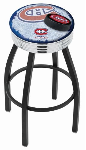 Montreal Bar Stool w/ Canadiens Logo Swivel Seat - L8B3C-D2