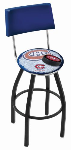 Montreal Bar Stool w/ Canadiens Logo Swivel Seat - L8B4-D2