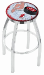 New Jersey Bar Stool w/ Devils Logo Swivel Seat - L8C2C-D2