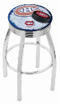 Montreal Bar Stool w/ Canadiens Logo Swivel Seat - L8C3C-D2