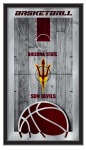 Arizona State Sun Devils Basketball Logo Mirror
