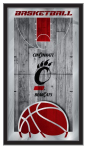 Cincinnati Bearcats Basketball Logo Mirror