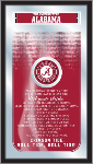 Alabama Mirror w/ Crimson Tide Logo - Fight Song
