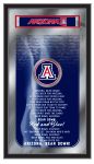 Arizona Mirror w/ Wildcats Logo - Fight Song