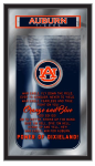 Auburn Mirror w/ Tigers Logo - Fight Song