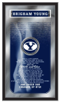 Brigham Young Mirror w/ Cougars Logo - Fight Song
