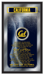 California Mirror w/ Golden Bears Logo - Fight Song