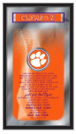 Clemson Mirror w/ Tigers Logo - Fight Song
