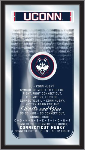 Connecticut Mirror w/ Huskies Logo - Fight Song