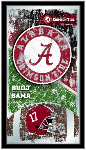 Alabama Crimson Tide Football Logo Mirror