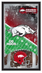Arkansas Razorbacks Football Logo Mirror
