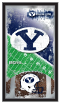 Brigham Young Cougars Football Logo Mirror
