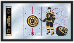 Boston Bruins NHL Logo Rink Mirror