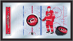 Carolina Hurricanes NHL Logo Rink Mirror
