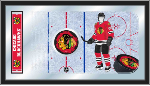 Chicago Blackhawks NHL Logo Rink Mirror
