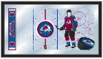 Colorado Avalanche NHL Logo Rink Mirror