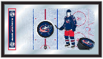 Columbus Blue Jackets NHL Logo Rink Mirror