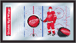 Detroit Red Wings NHL Logo Rink Mirror