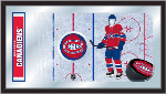 Montreal Canadiens NHL Logo Rink Mirror