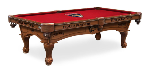 Florida Pool Table w/ Panthers Logo - Engraved Decor