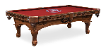 Montreal Pool Table w/ Canadiens Logo - Engraved Decor