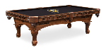 Pittsburgh Pool Table w/ Penguins Logo - Engraved Decor