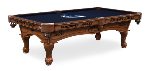 Vancouver Pool Table w/ Canucks Logo - Engraved Decor