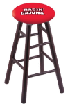 Louisiana Lafayette Stool w/ Maple Swivel Base - Dark Cherry Finish