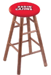 Louisiana Lafayette Stool w/ Maple Swivel Base - Medium Finish