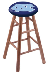 North Carolina Stool w/ Maple Swivel Base - Medium Finish