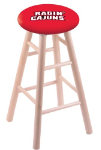 Louisiana Lafayette Stool w/ Maple Swivel Base - Natural Finish