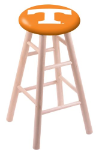 Tennessee Stool w/ Maple Swivel Base - Natural Finish