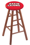 Louisiana Lafayette Stool w/ Oak Swivel Base - Medium Finish