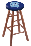 North Carolina Stool w/ Oak Swivel Base - Medium Finish