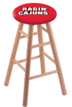 Louisiana Lafayette Stool w/ Oak Swivel Base - Natural Finish
