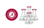 Alabama Crimson Tide Bar Stools (Set of 4)