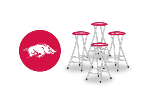 Arkansas Razorbacks Bar Stools (Set of 4)