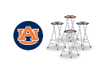 Auburn Tigers Bar Stools (Set of 4)