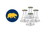California Golden Bears Bar Stools (Set of 4)