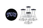Texas Christian Horned Frogs Bar Stools (Set of 4)