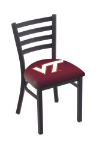 "Virginia Tech Chair w/ Hokies Logo - 18"" L004"