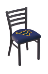 "West Virginia Chair w/ Mountaineers Logo - 18"" L004"