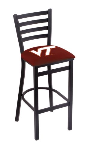 Virginia Tech Bar Stool w/ Hokies Logo - L004