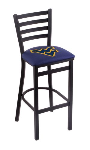 West Virginia Bar Stool w/ Mountaineers Logo - L004