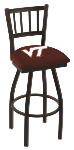 Virginia Tech Bar Stool w/ Hokies Logo Swivel Seat - L018