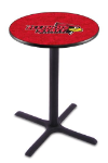 Illinois State Pub Table w/ Redbirds Logo - L211