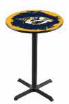 Nashville Pub Table w/ Predators Logo - L211
