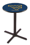 West Virginia Pub Table w/ Mountaineers Logo - L211