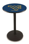 West Virginia Pub Table w/ Mountaineers Logo - L214